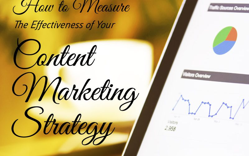 How To Measure The Effectiveness Of Your Content Marketing Strategy
