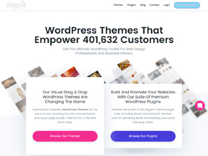 Elegant Themes WordPress Themes - Aurosign