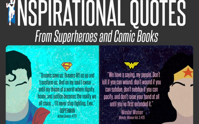 30 Inspirational Quotes from Superheroes and Comic Books